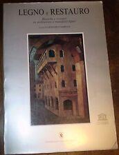 TAMPONE/LEGNO E RESTAURO/RESTAURATION D'ART SUR BOIS/italien, résumés français