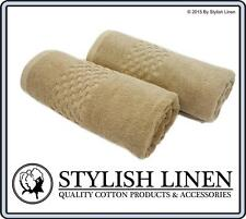 Egyptian Cotton Bath Towels 6 Piece Sets Pieces Towel New BulkBuy 650GSM Beige