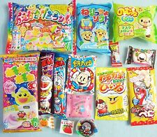 New 15 PCS Set Japasene Candy Dagashi Kracie Popin Cookin Oekaki Gummy Land Gift