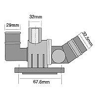 TRIDON Std Thermostat For Volkswagen Jetta 2.0 Turbo FSI 02/06-01/09 2.0L BWA