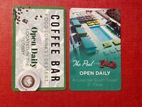 PLAZA HOTEL & CASINO LAS VEGAS - ROOM KEY CARDS - VGC