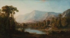 "Robert Seldon Duncanson : ""Vale of Kashmir"" (1867) — Giclee Fine Art Print"