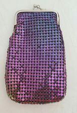Eclipse Mesh Sequin Luxury Multicolor 100's Cigarette Snap Case Ultra Soft