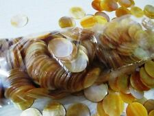 Mother of Pearl  2 inches ROUNDED  shape  50 pcs