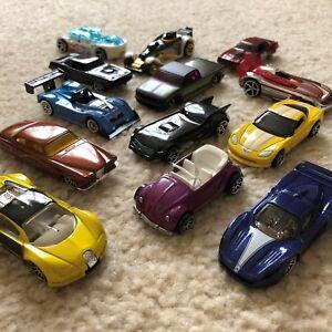 2007-2008 Hot Wheels Mystery Car - Selection - Bugatti Veyron, Maserati, VW Bug