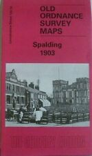 Old Ordnance Survey Detailed Maps Spalding Lincolnshire 1903 Godfrey Edition New