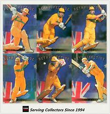 1996 Futera World Cup Cricket Trading Cards Tribute Tc2 David Boon