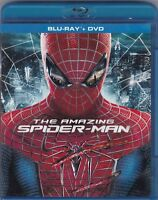 The Amazing Spider-Man (Blu-ray/DVD, 2012, 3-Disc Set) *Widescreen*