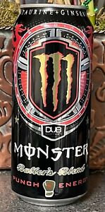 NEW MONSTER ENERGY DRINK PUNCH BALLERS BLEND DUB EDITION 16OZ FULL CAN VERY RARE