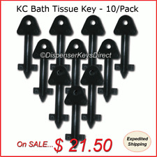 Kimberly Clark #770767 - Bath Tissue Dispenser Key - (10/pk.)