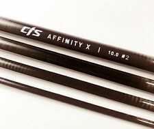 """Cts 10'6"""" 2 Weight Affinity 'X' Nymphing Fly Rod Blank Plum 'New'"""