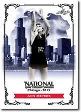 ANN MEYERS DRYSDALE  2013 Leaf National Convention PROMO Olympic Basketball Card