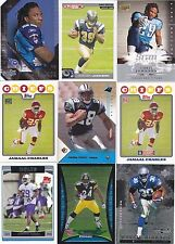 NFL Running Back RB Rookie card RC lot of 15 -Jamaal Charles Steven Jackson