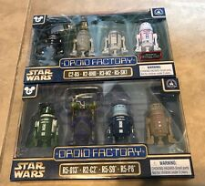 Star Wars Droid Factory 2 set LOT x 4 = 8 NEW Disney Park Rogue One Clone Wars