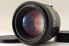 【AB- Exc】 Nikon AF NIKKOR 85mm f/1.8 Lens for F Mount w/Caps From JAPAN #2952