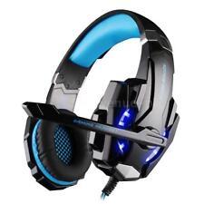 G9000 Kopfhörer Gaming Headset USB Stereo Surround LED Mic für PS4 PC Handy U8P3