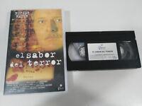 Il Gusto Del Horror Rutger Hauer Azzopardi Horror VHS Tape Castellano
