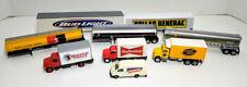 9 Ho Billboard Tractor Trailer Trucks, Reefers Tank Cars Budweiser Shell C-8