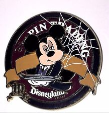 LE 500 Disney Pin✿Mickey Mouse Trading Night Haunted Mansion 10 Years Ghost Host