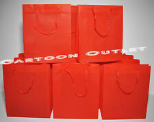 12 PCS CANDY BAGS BIRTHDAY VALENTIME LOOT RED NON-WOVEN PARTY FAVORS MINI TOTES