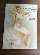 DRAWING THE FIGURE Rusell Tredell Vintage Nude Drawing Instruction