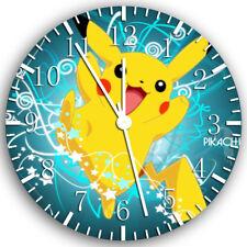 Pokemon Pikachu Frameless Borderless Wall Clock Nice For Gifts or Decor Z66
