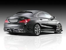 CARBON Piecha Rear Diffuser Bottom Spoiler For 13-14 Benz W117 C117 CLA Class
