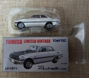 Tomica Limited Vintage Tomytec Isuzu Bellett1600GT LV-137b Year 2013 with Box