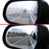2Pcs Oval Car Rainproof Anti Fog Rearview Mirror Protective Film Accessories New