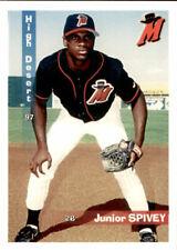 1997 High Desert Mavericks Grandstand #25 Junior Spivey Oklahoma City OK Card