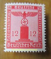 EBS Germany 1942 12 Pfennig Nazi Party Official Dienstmarke Michel 161 MNH**