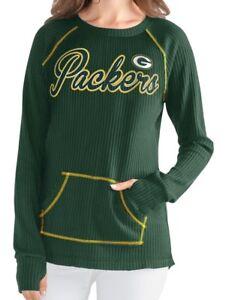 "Green Bay Packers Women's G-III NFL ""Post Season"" Waffle Knit Shirt"