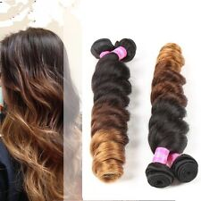 300g unprocessed ombre brazillian virgin human hair 18inches uk