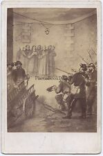 Histoire de la Commune 1871 Photo sur papier albuminé d'après une peinture