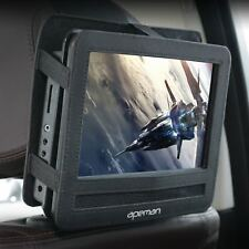 10.5'' Portable Mobile Car DVD CD Player Kids + Headrest MOUNT Holder FLIP Fast