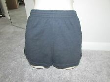 Soffe Navy Blue Mini Shorts Juniors Size XS Cotton Blend Great for summer