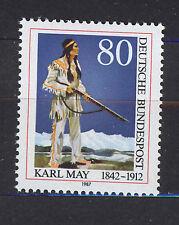 ALEMANIA/RFA WEST GERMANY 1987 MNH SC.1502 Karl May,novelist