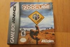 ZooCube GBA Gameboy Advance New Factory Sealed