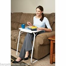TABLE MATE ll PORTABLE FOLDING ADJUSTABLE GAME BREAKFAST COMPUTER TABLE