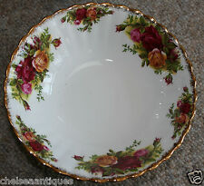 Original Royal Albert Old Country Roses 1962 SOUP BOWL/SALAD DISH White Floral