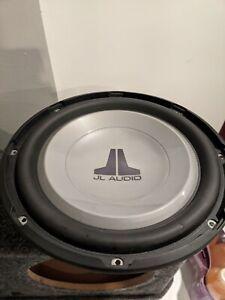 JL Audio 12W1V2-4 Subwoofer 12 Car Audio Speaker 300 W 4 Ohm W / Cover Grill