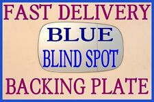 RENAULT LAGUNA MK2 2001-2007 WING MIRROR GLASS BLIND SPOT BACK PLATE BLUE TINTED