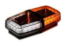 Amber White Mini Light bar Emergency Warning  LED EMS Security strobe hazard