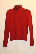 L Ralph Lauren Red Polo Jeans turtle neck 70% Cotton