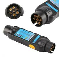 Trailer Tester Prüfgerät Beleuchtungstester PKW Anhänger 7-polig 12 Volt DE