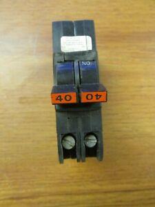 Federal Pacific Circuit Breaker 2P, 40A, 120/240V Cat# NC240 .. I-12