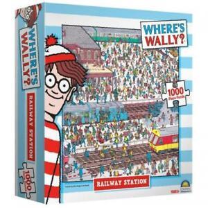 1000 Piece Jigsaw Puzzle Where's Wally - Railway Station