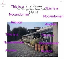NM FRITZ REINER SPAIN CHICAGO SYMPHNY ORCH CHESKY RC9 RCA LSC-2230 ALBENIZ FALLA