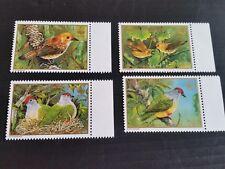COOK ISLANDS 1989 SG 1222-1225  ENDANGERED BIRDS MNH  (Y)