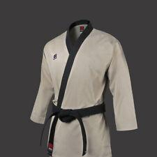 MOOTO 3F Master Open Uniform Dobok Taekwondo TKD MMA Beige Aikido Hapkido Gi